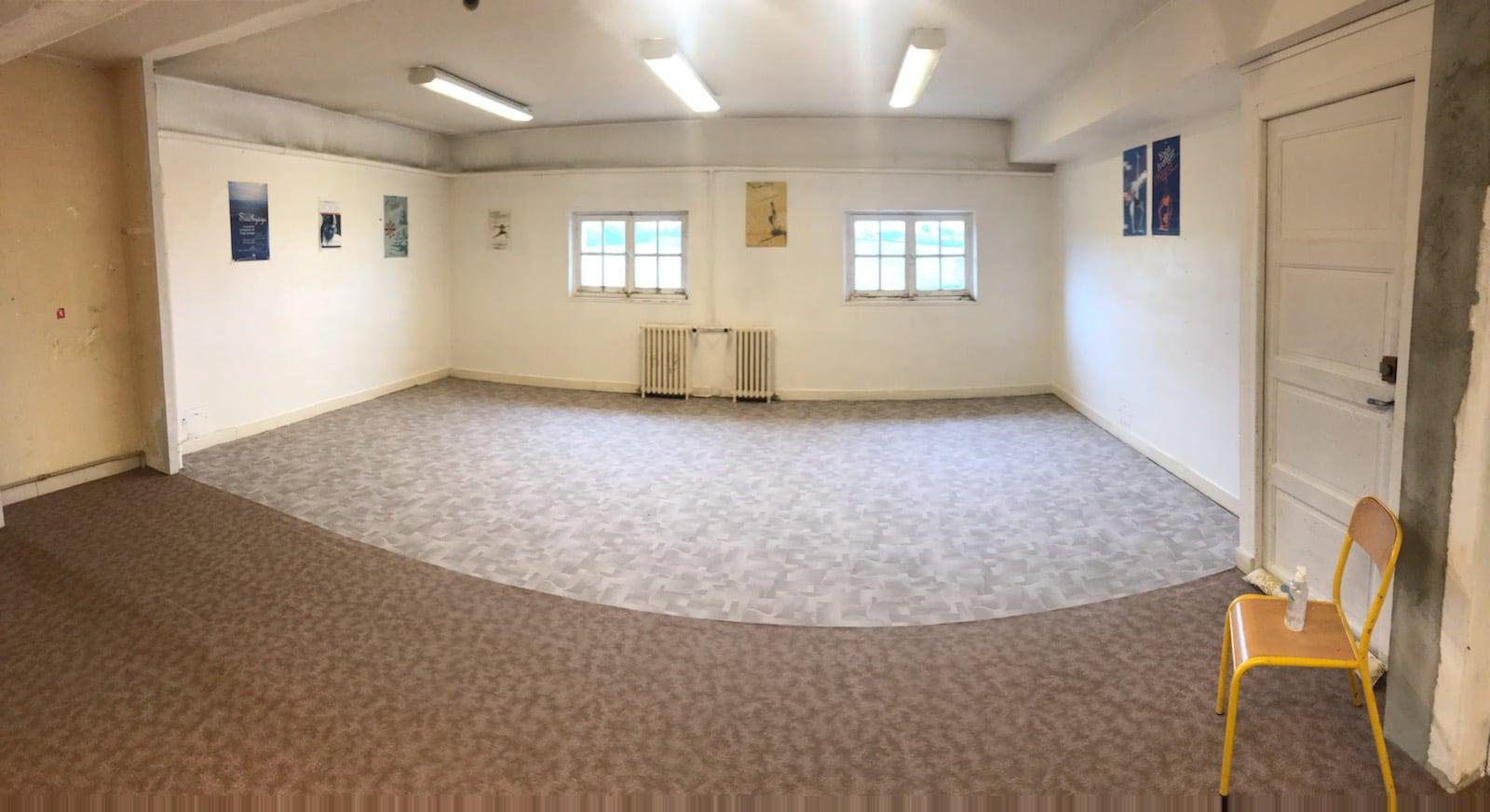 La salle de yoga
