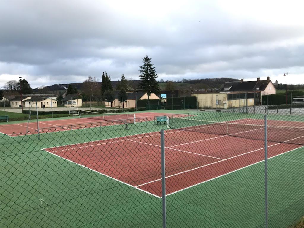 Les courts de Tennis Claude VILLY