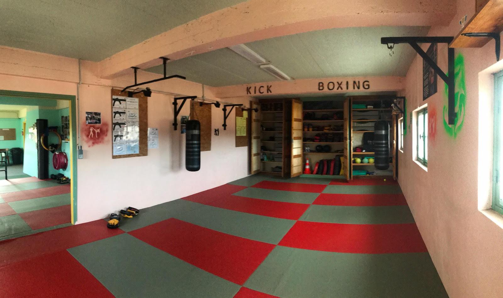 La salle de kick-boxing