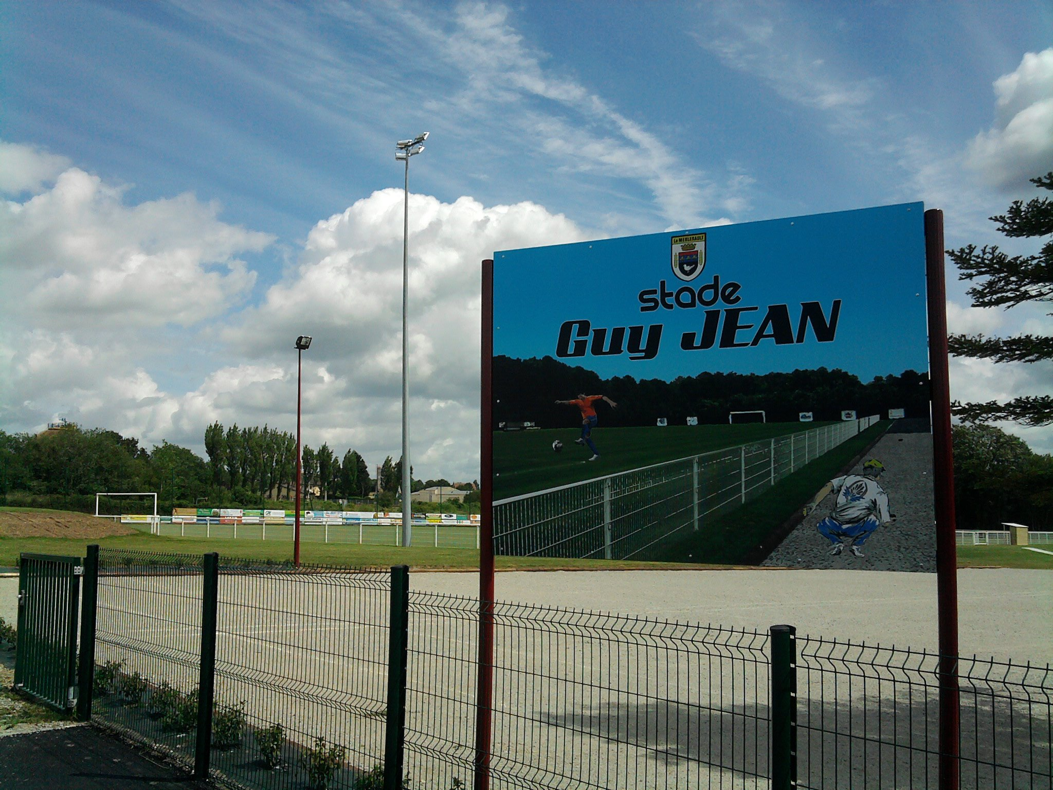 Le complexe sportif Guy JEAN