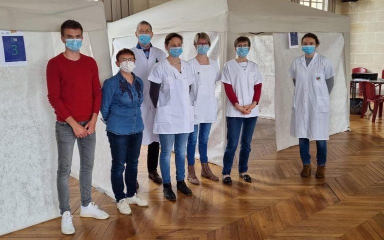 La campagne de vaccination Covid-19 s'achève au Merlerault